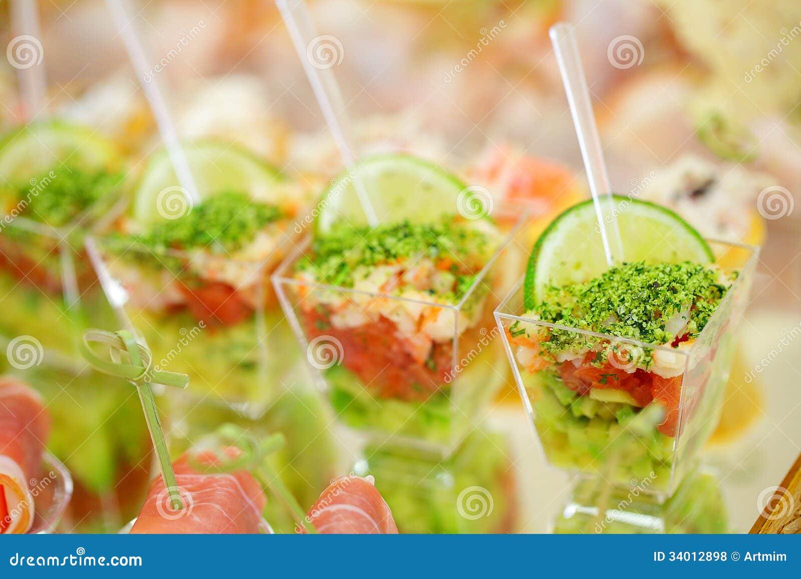 Appetizers, gourmet food