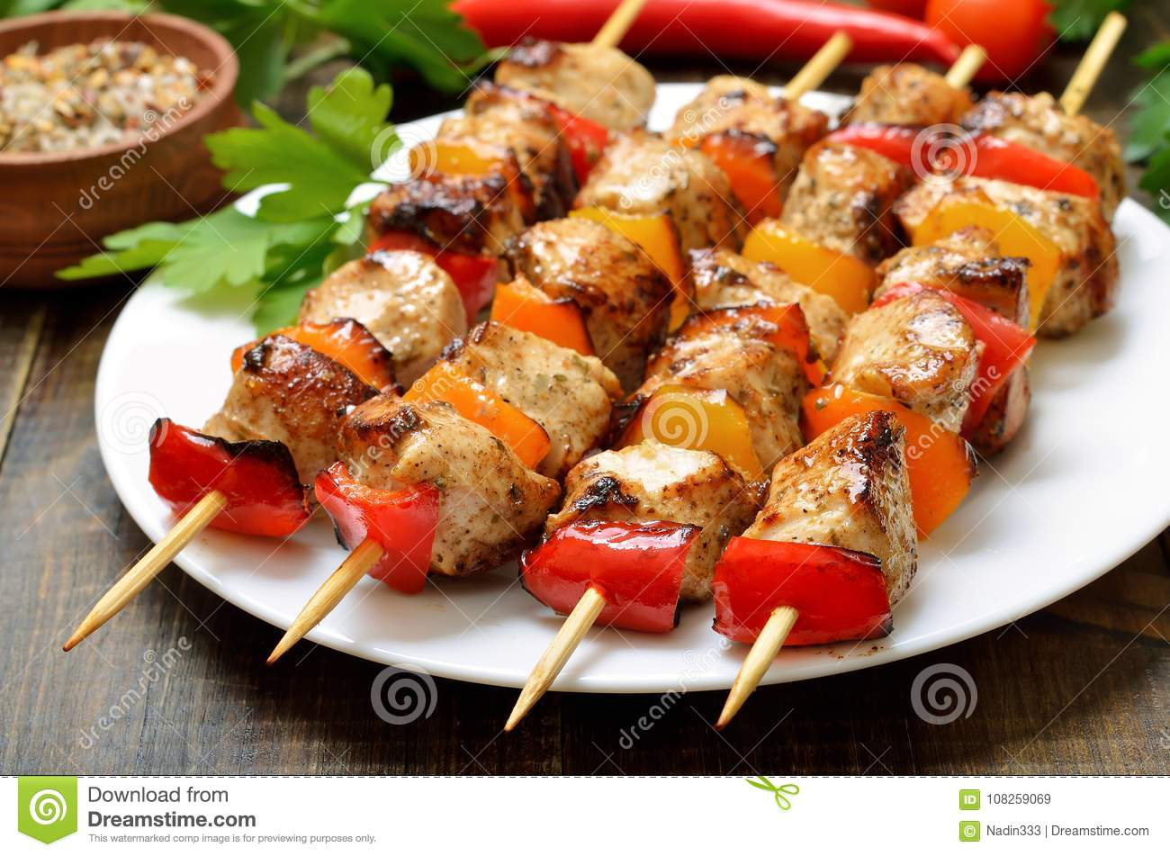 48 486 Chicken Kebab Photos Free Royalty Free Stock Photos From Dreamstime