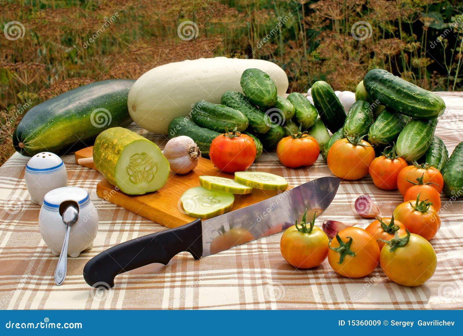 Appetizing vegetable snack