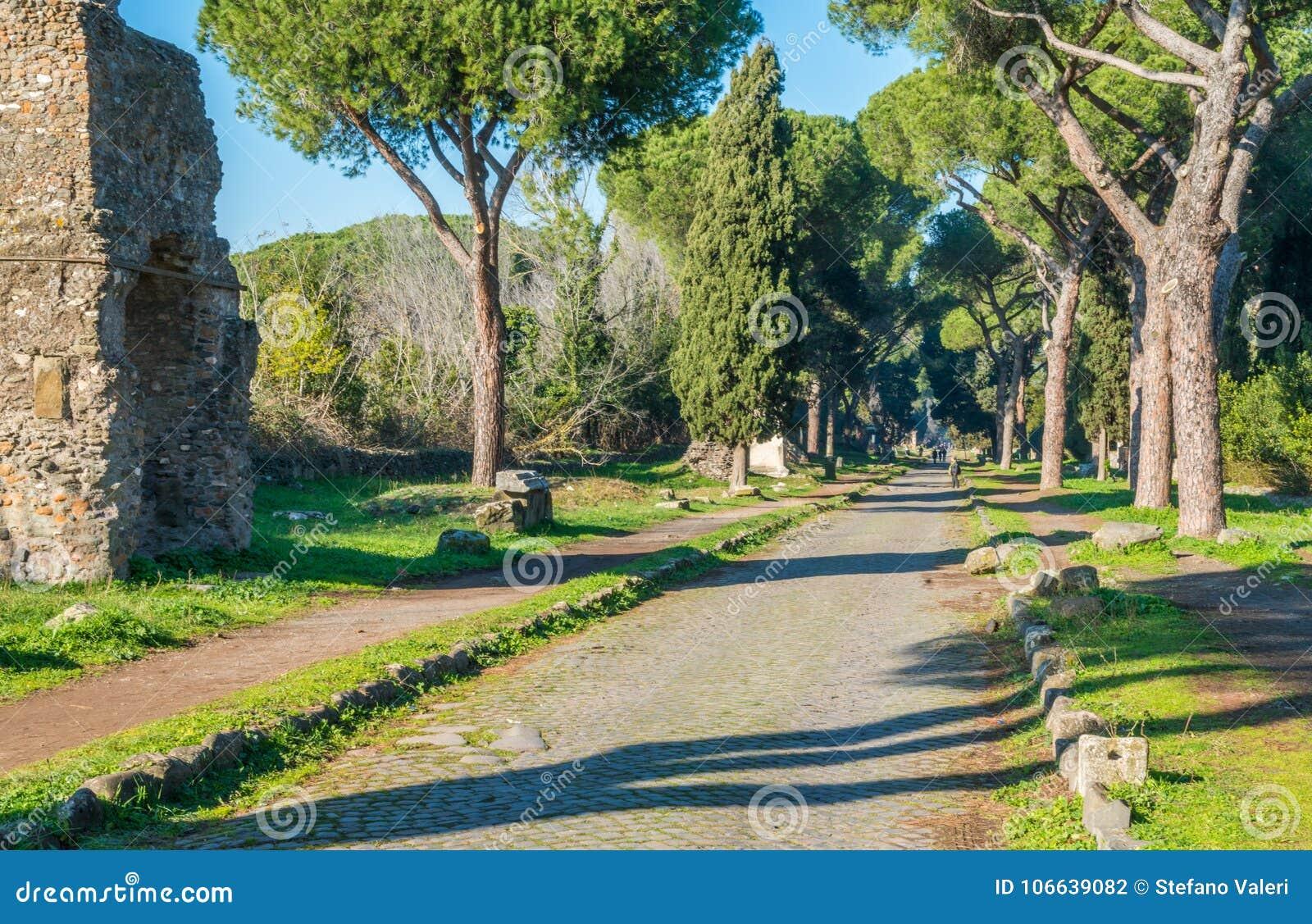 Appian sposób Appia Antica w Rzym