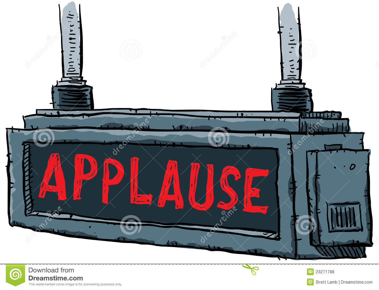 Applause Sign Royalty Free Stock Photos - Image: 23271788