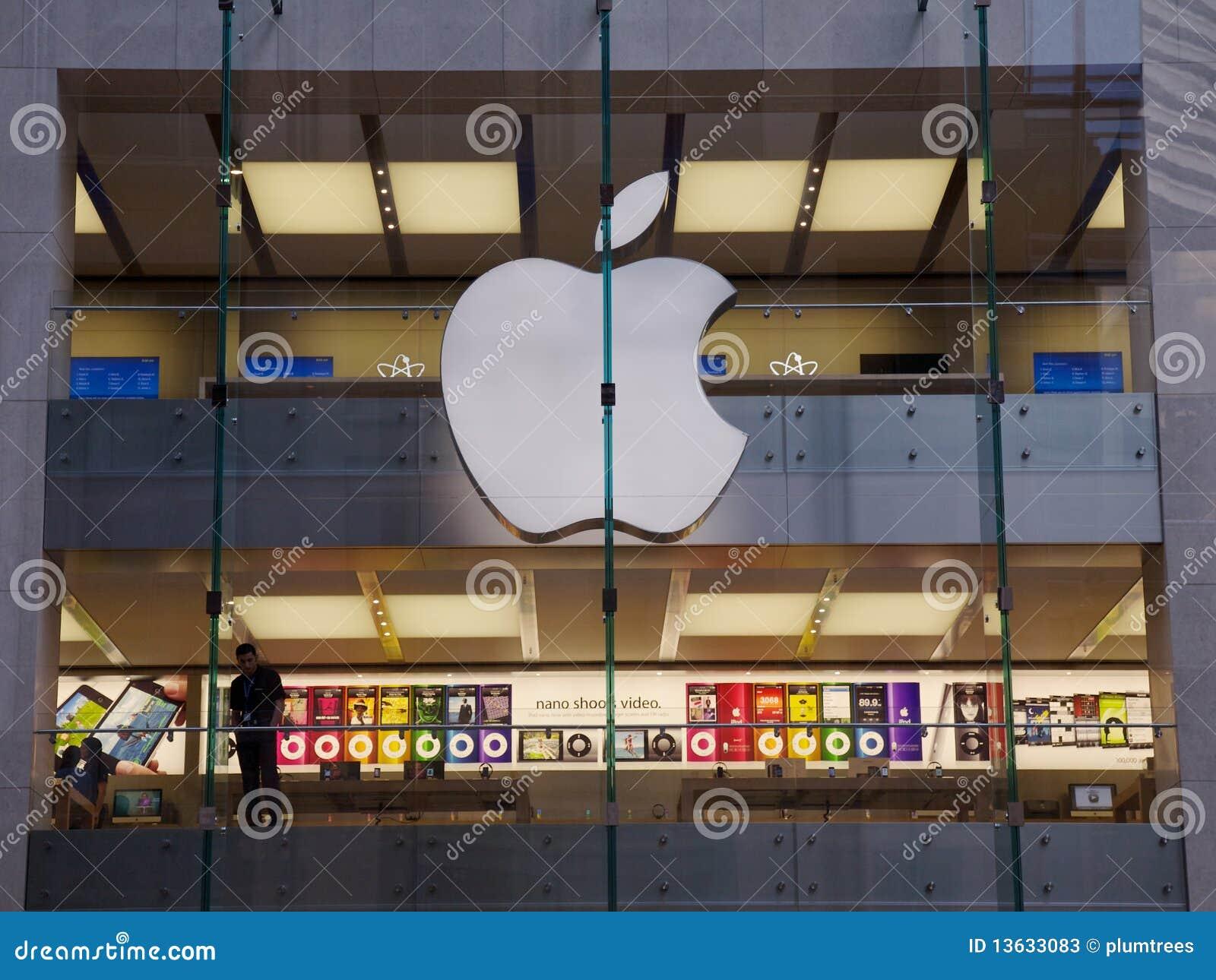 Apple计算机人购物存储