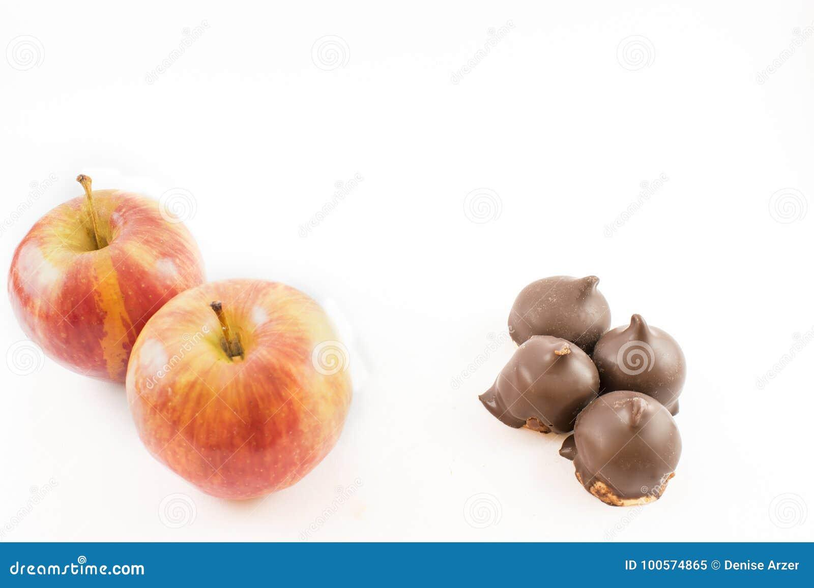 Apple και dulce de leche
