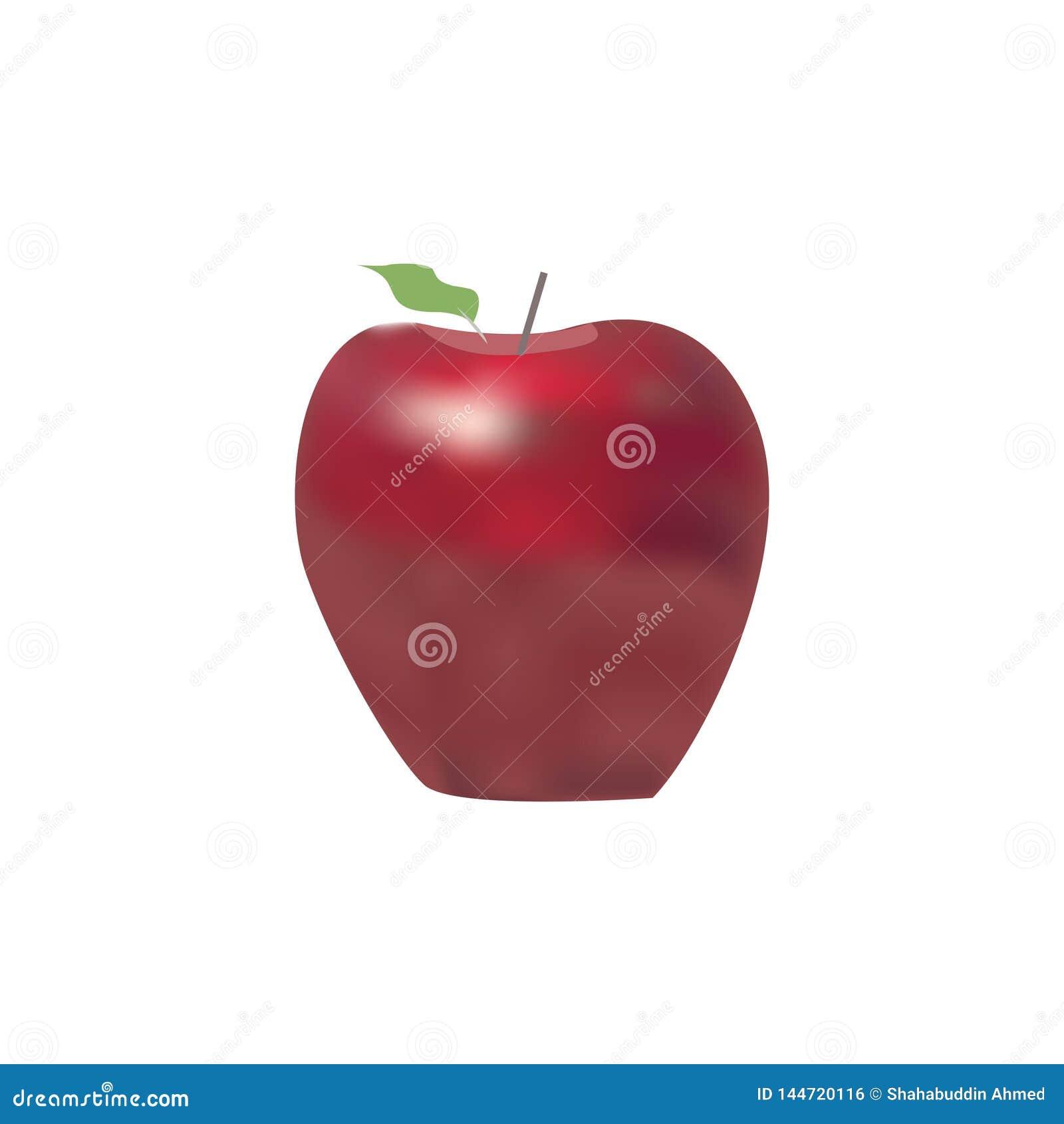 Σχέδιο λογότυπων της Apple Λογότυπο ή εικονίδιο φρούτων