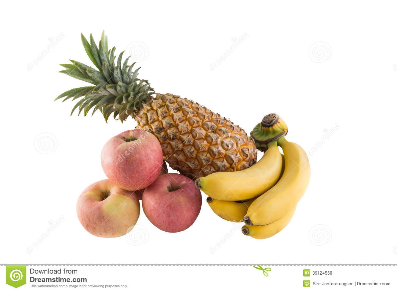 Amazing Wallpaper Macbook Pineapple - apple-banana-pineapple-isolated-white-background-39124568  Best Photo Reference_628957.jpg