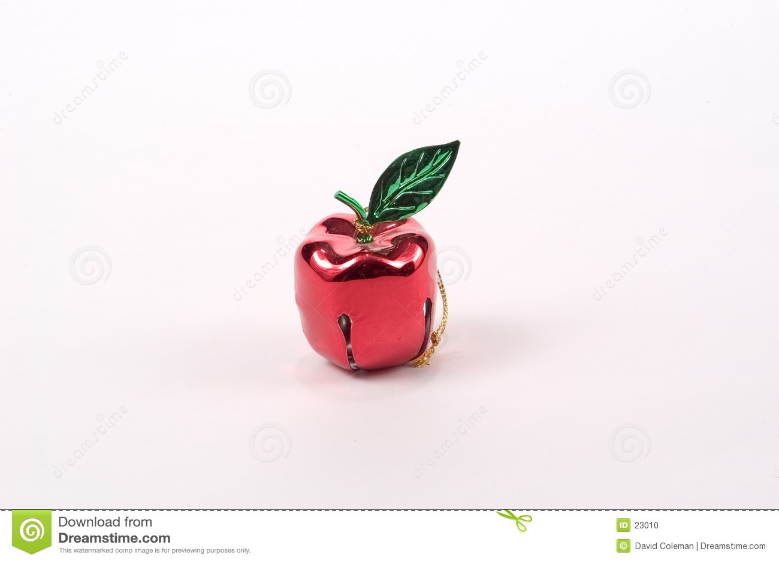 Apple Bell Tree Ornament