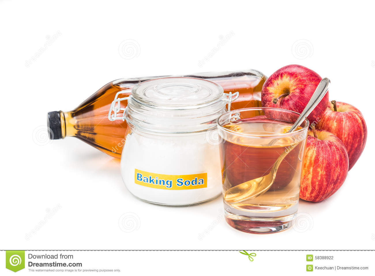 apple cider vinegar and baking soda combination for acid reflux
