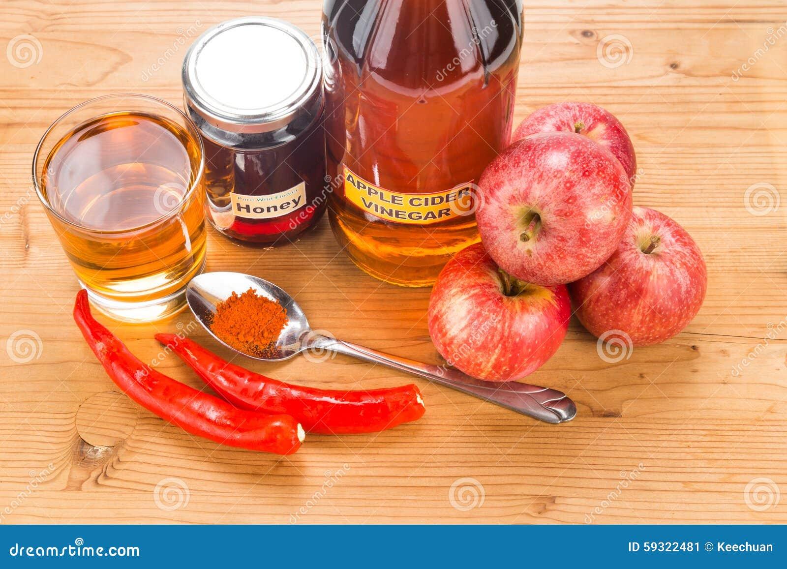 Cayenne Pepper Apple Cider Vinegar Drink