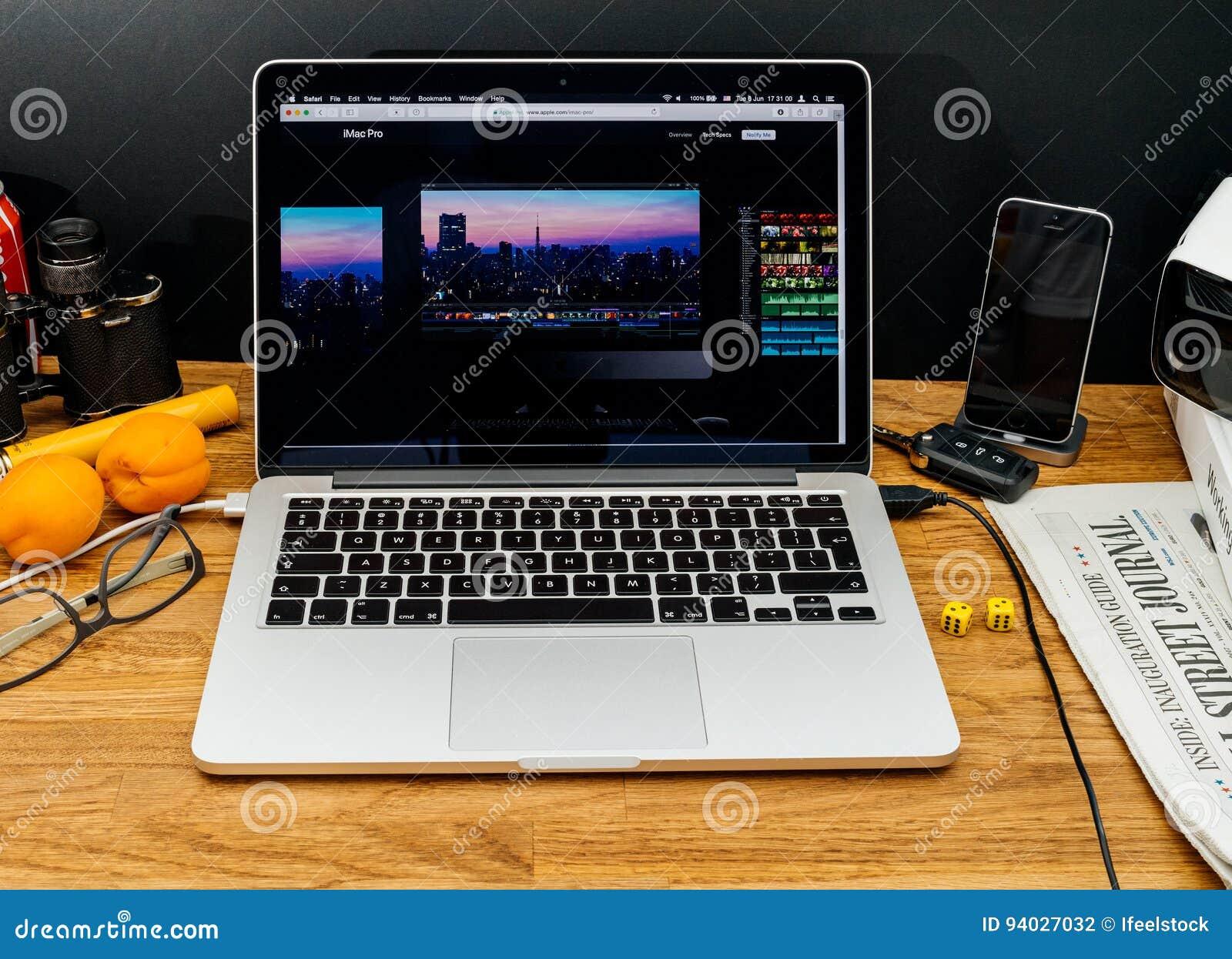 imac pro for photo editing