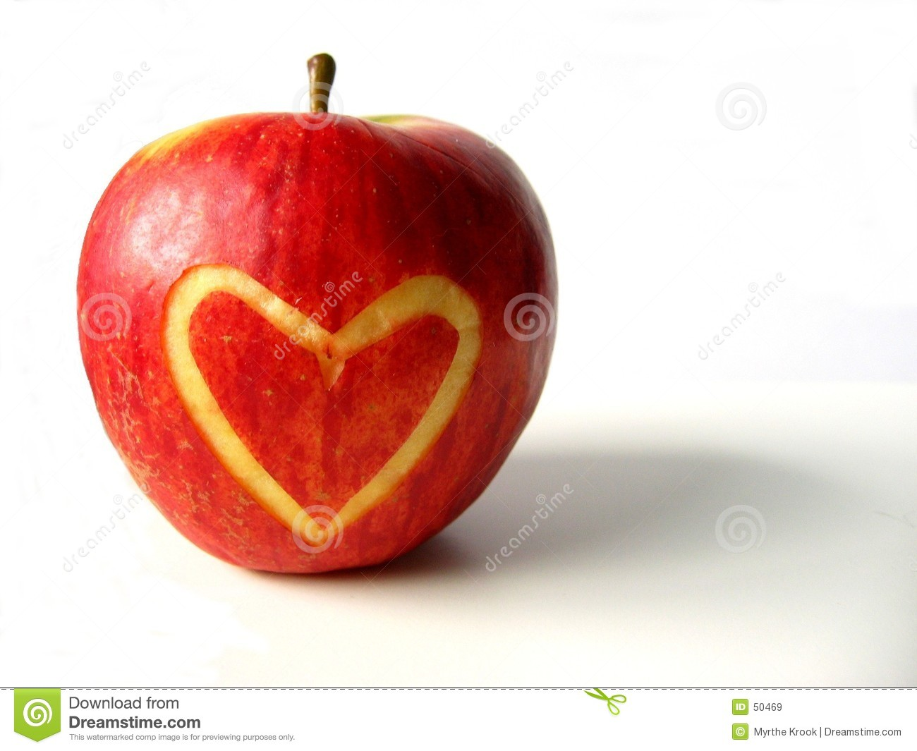 Apple con cuore