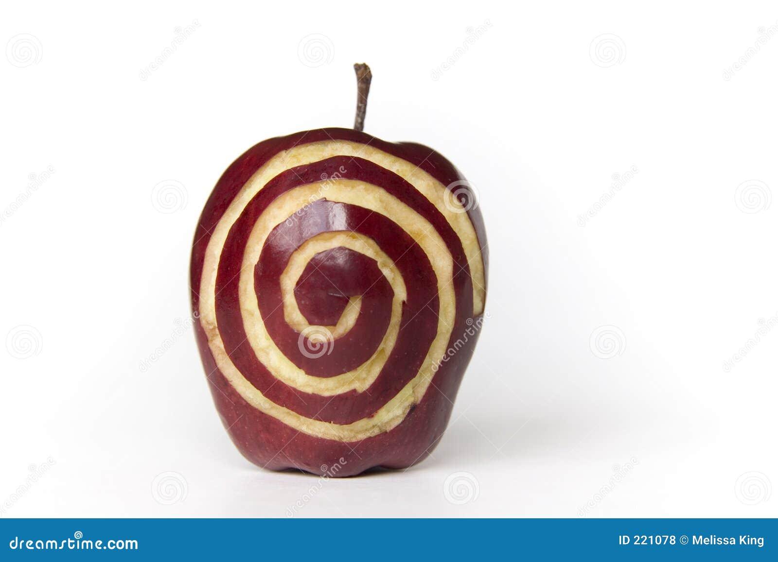Apple con Sprial