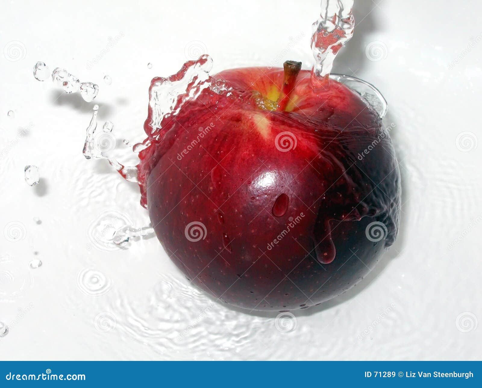 Apple con un chapoteo