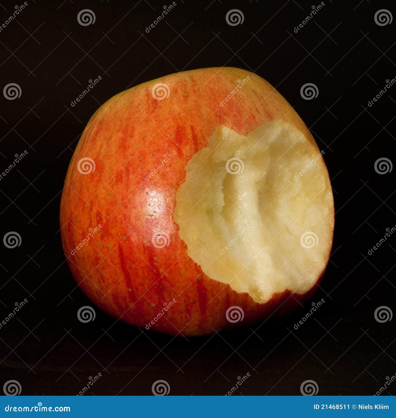 Apple con una mordedura