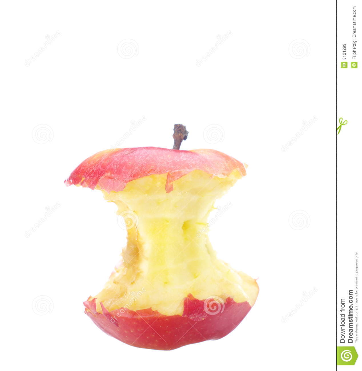 Apple Core Stock Photos - Image: 8121283