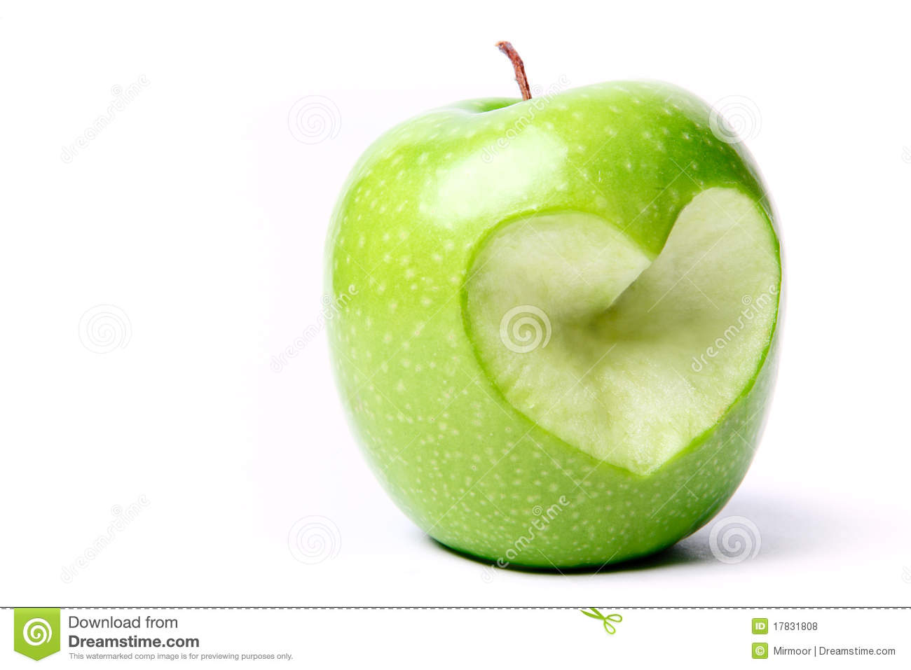 how to properly cut an apple