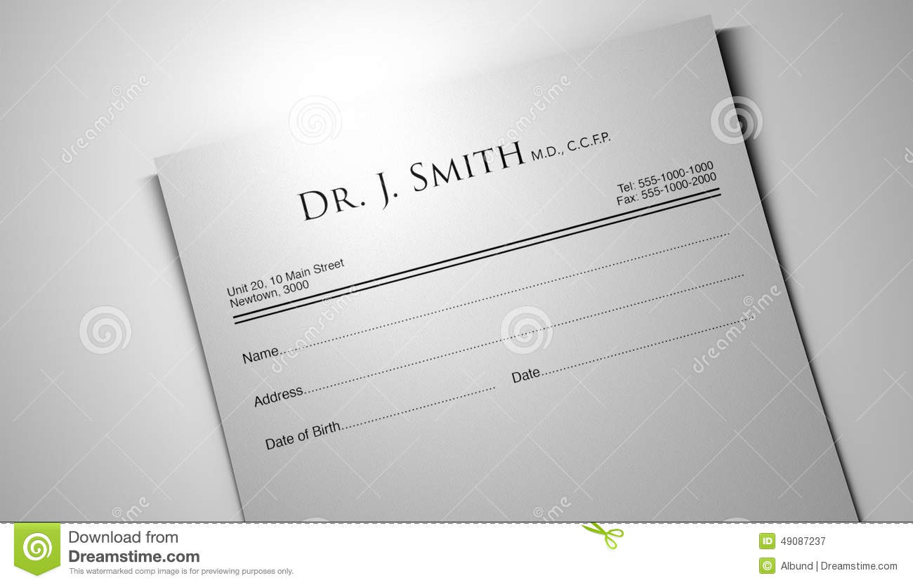 An Apple A Day Pill Prescription Stock Illustration - Image: 49087237