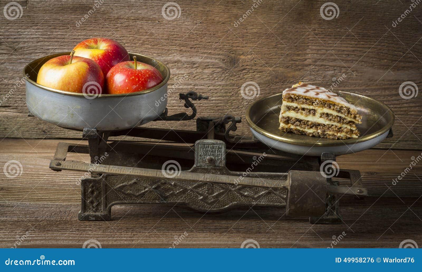 Apple in der Balance