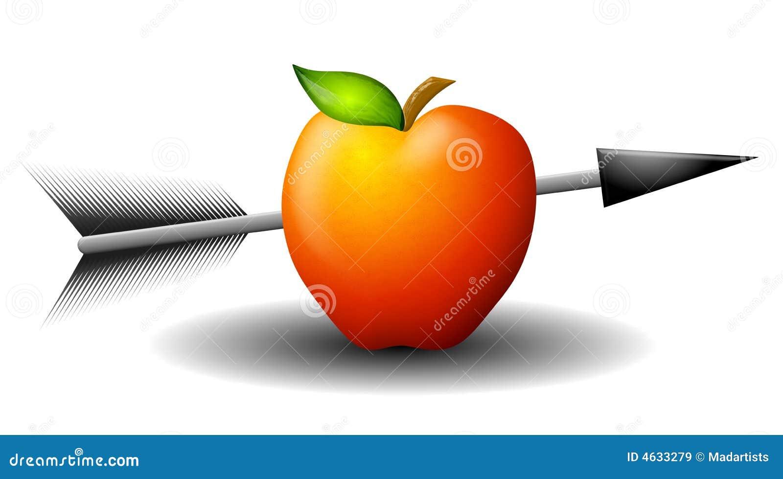 Apple disparou com seta