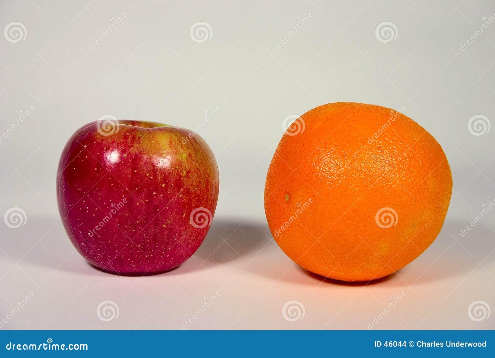Apple ed arancio