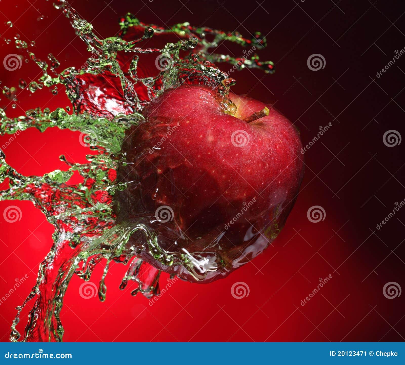 Apple en jugo