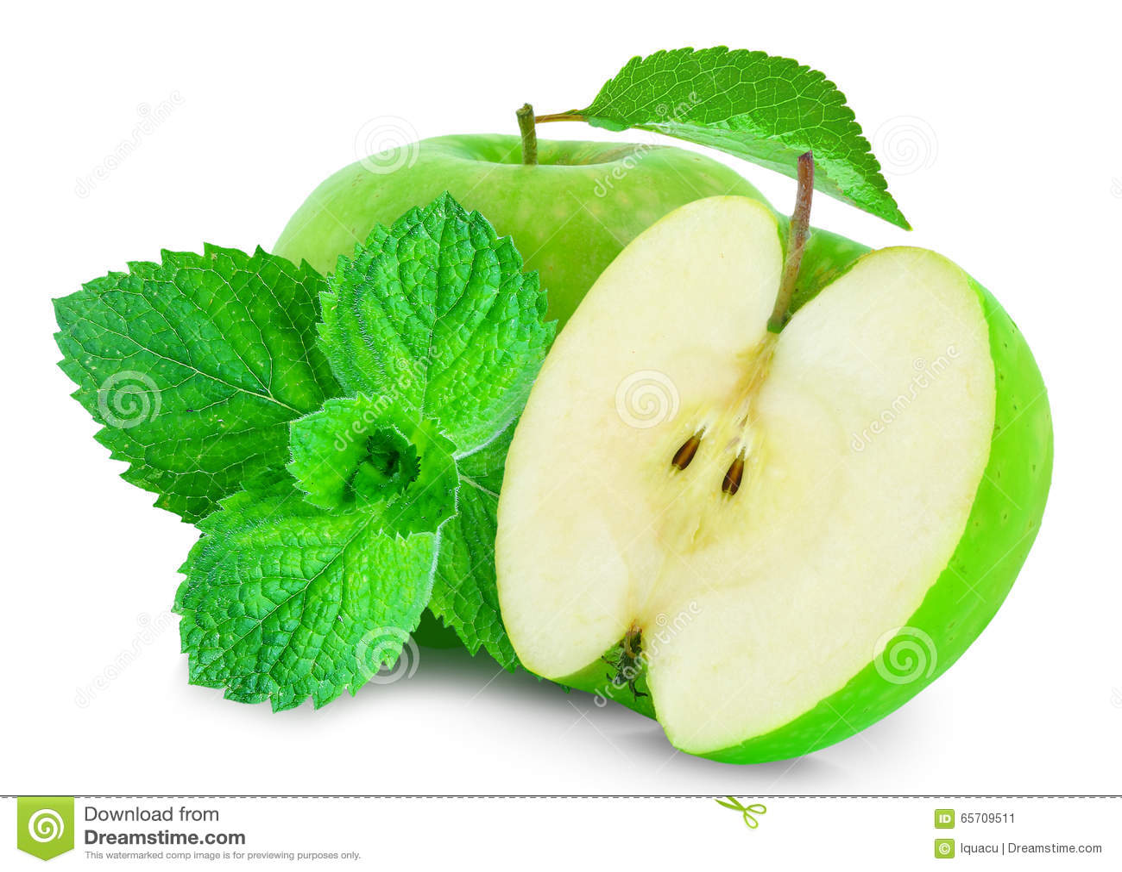 Apple et menthe