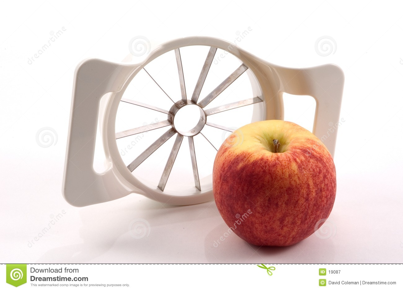 Apple et trancheuse d Apple