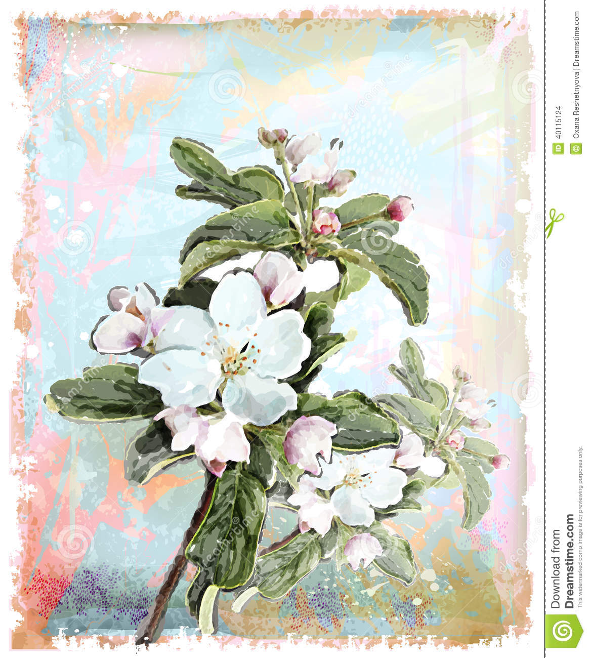 Apple floresce