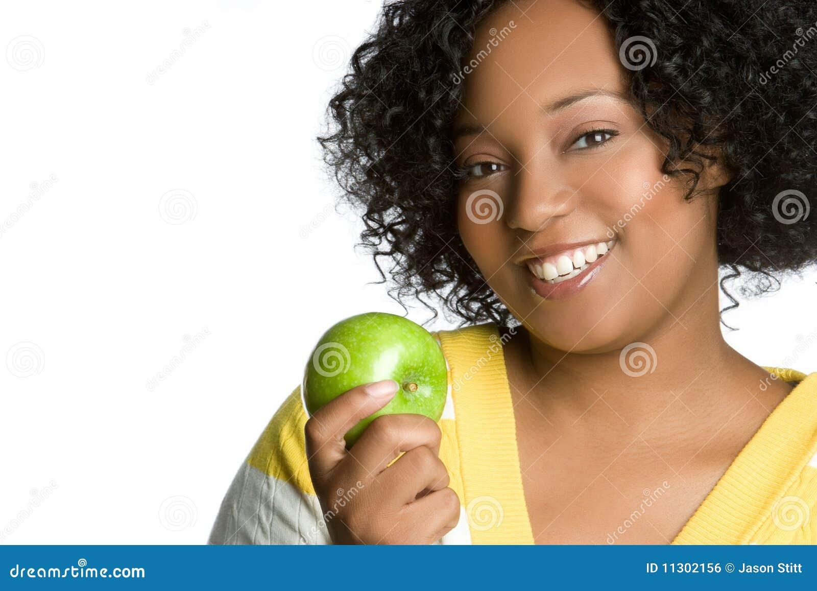 Apple-Frau