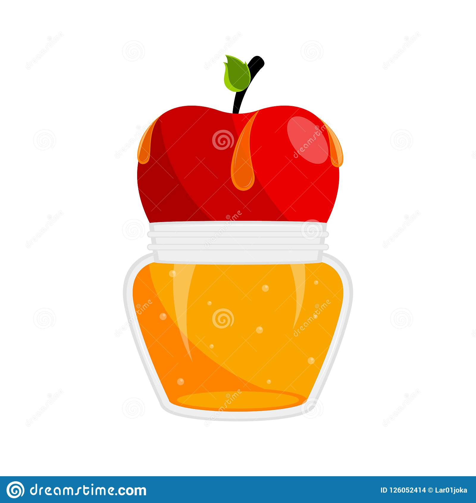 Rosh hashanah concept vector illustration design