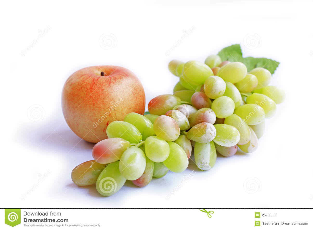 Apple and grape