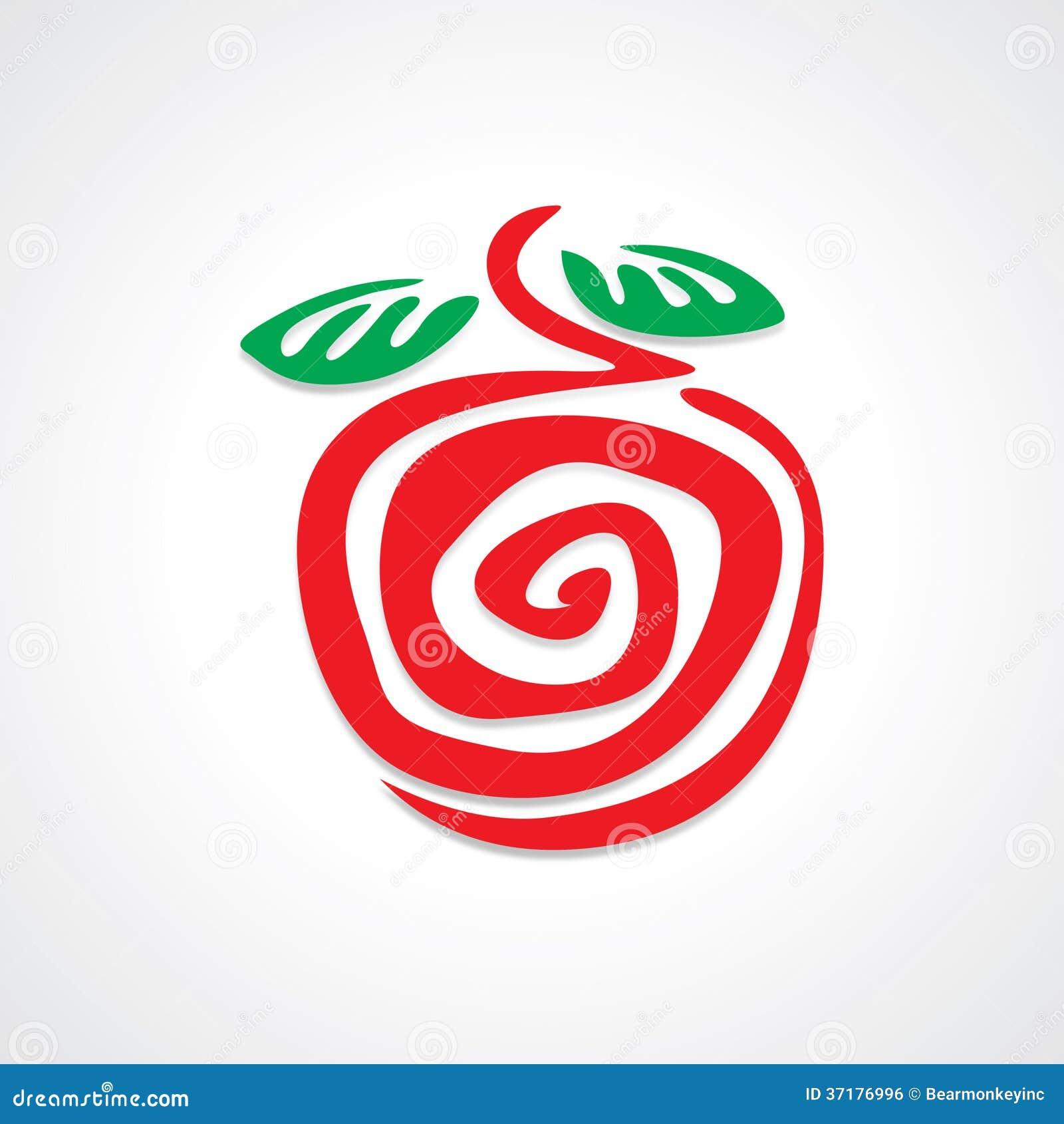 apple graphic stock vector illustration of illustration 37176996