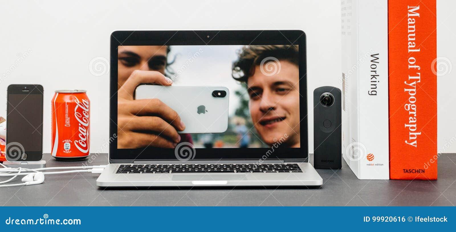 Apple grundtanke med introduktion av den bakre kameran 10 för iPhone X