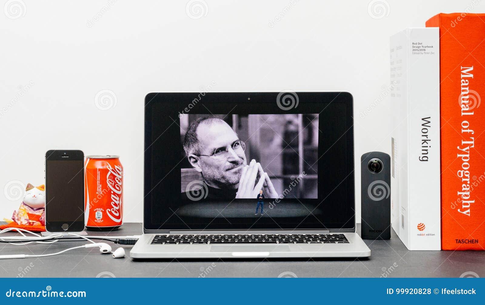 Apple grundtanke med Steve Jobs i minne av Tim Cook,