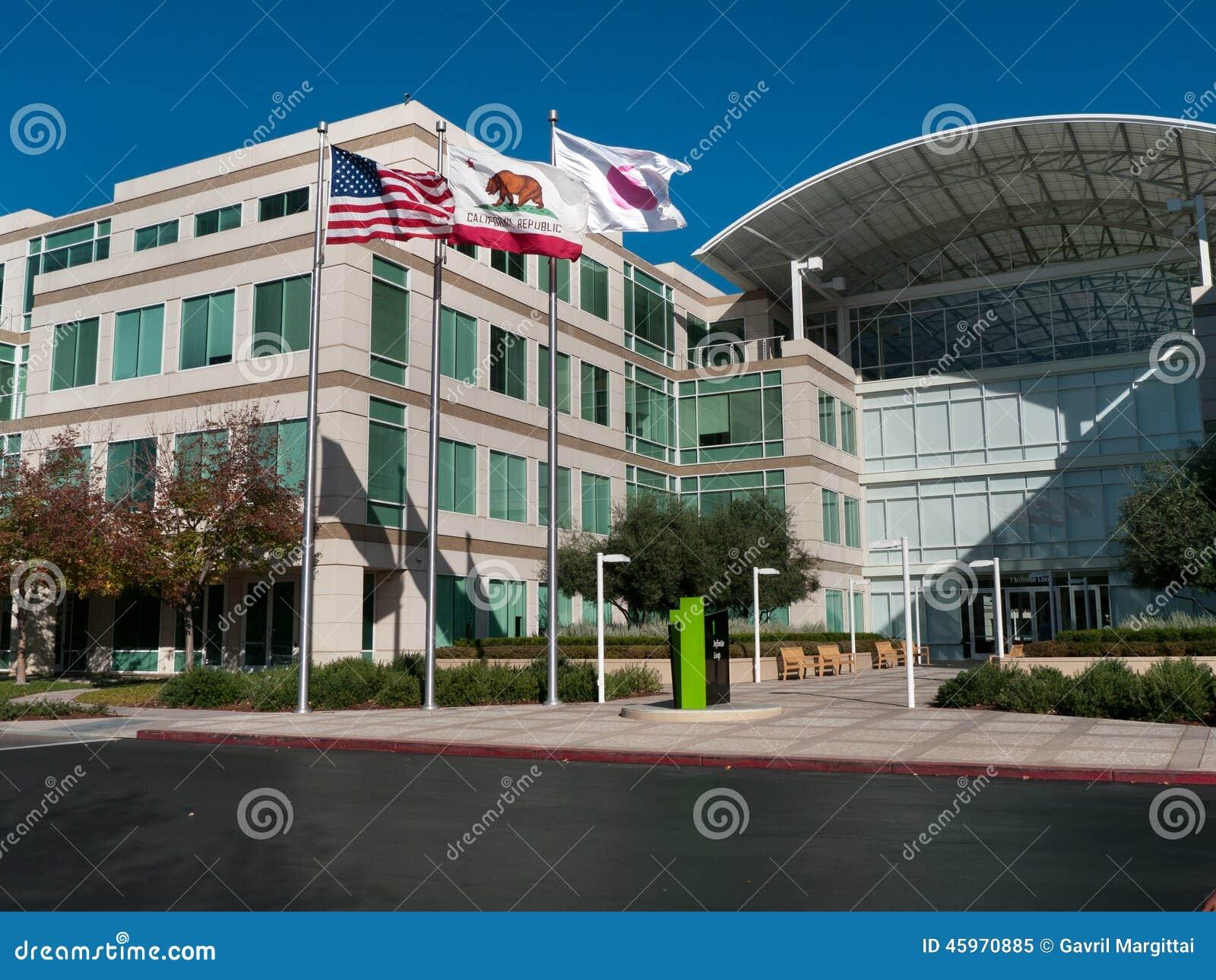 Apple Headquarters In Cupertino California Editorial Image