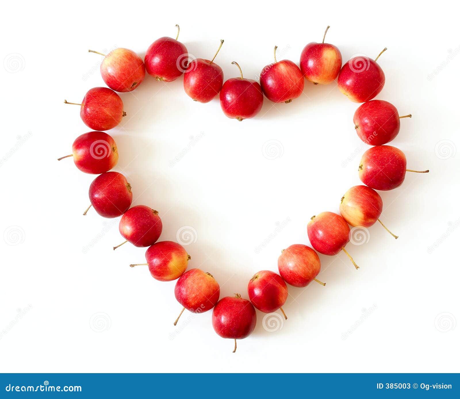 Apple Heart Stock Photos Image 385003