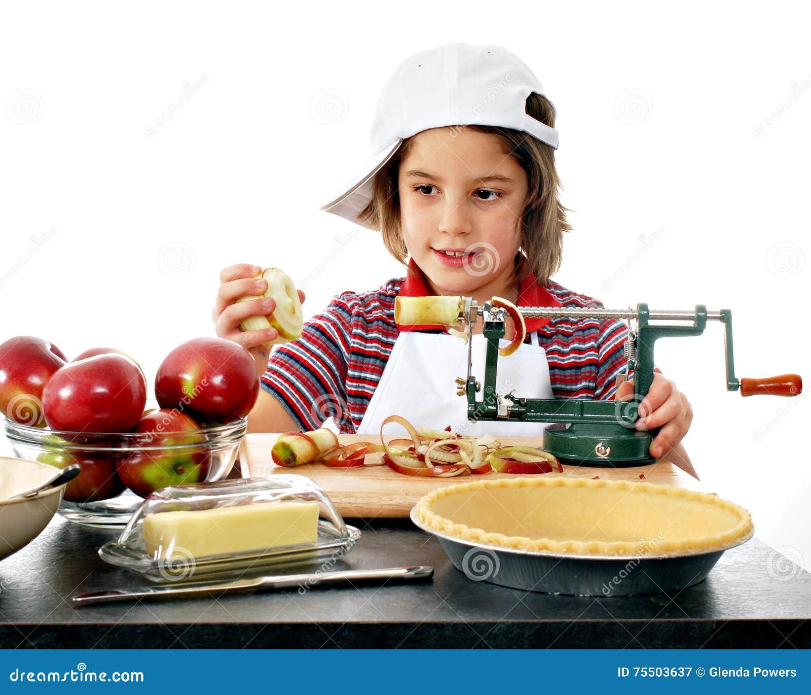 Apple heureux Peeler