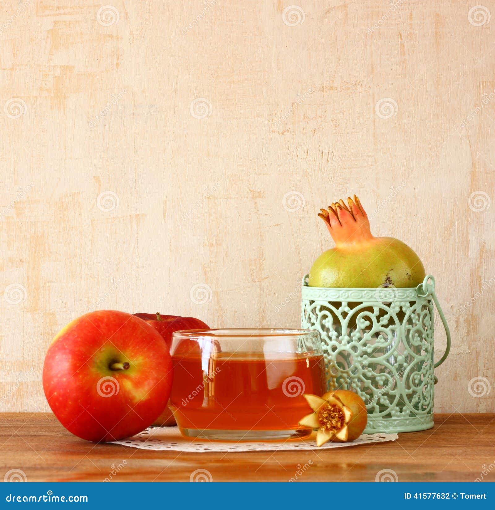 Apple honey and pomegranate symbols of rosh hashanah holiday apple honey and pomegranate symbols of rosh hashanah holiday biocorpaavc