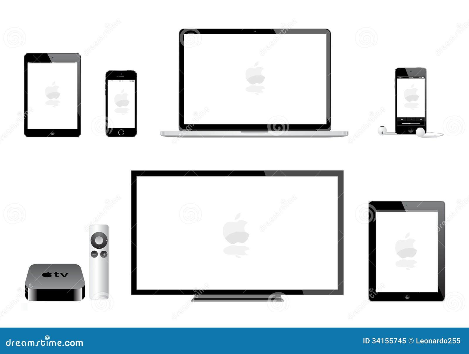 apple ipad mini iphone ipod mac tv vector eps 34155745 mac tv diagram schematics wiring diagram