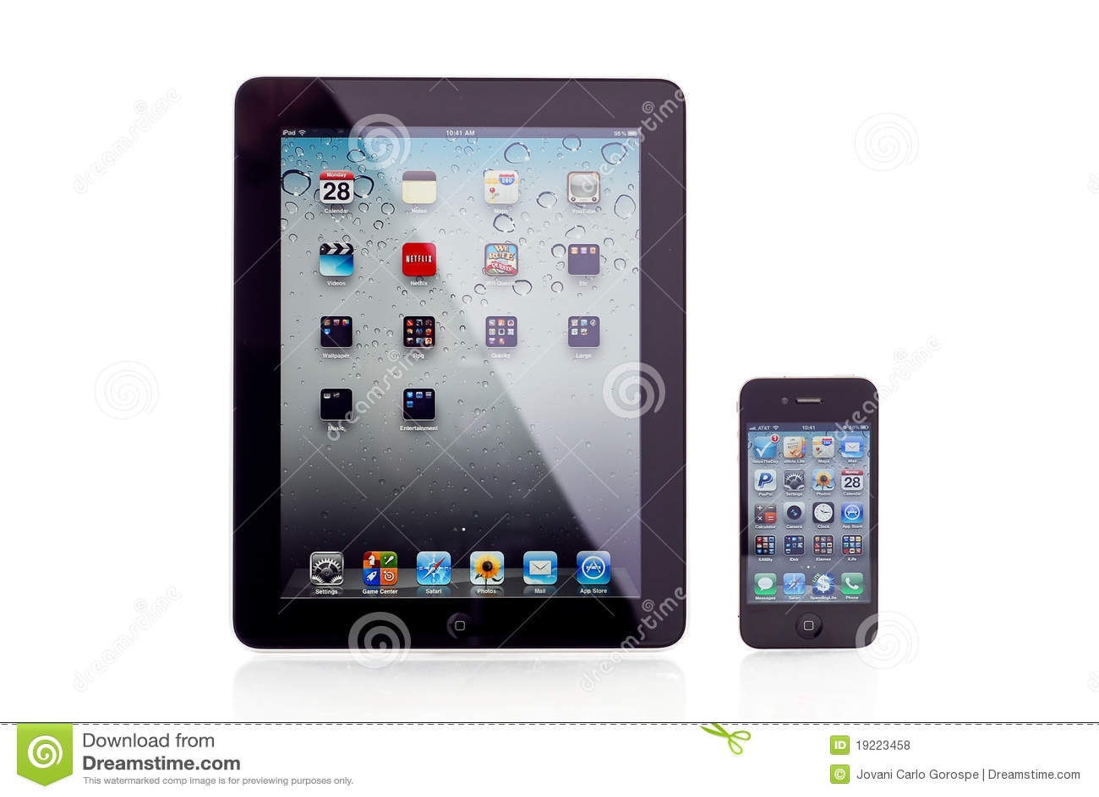 Apple iPad und iPhone