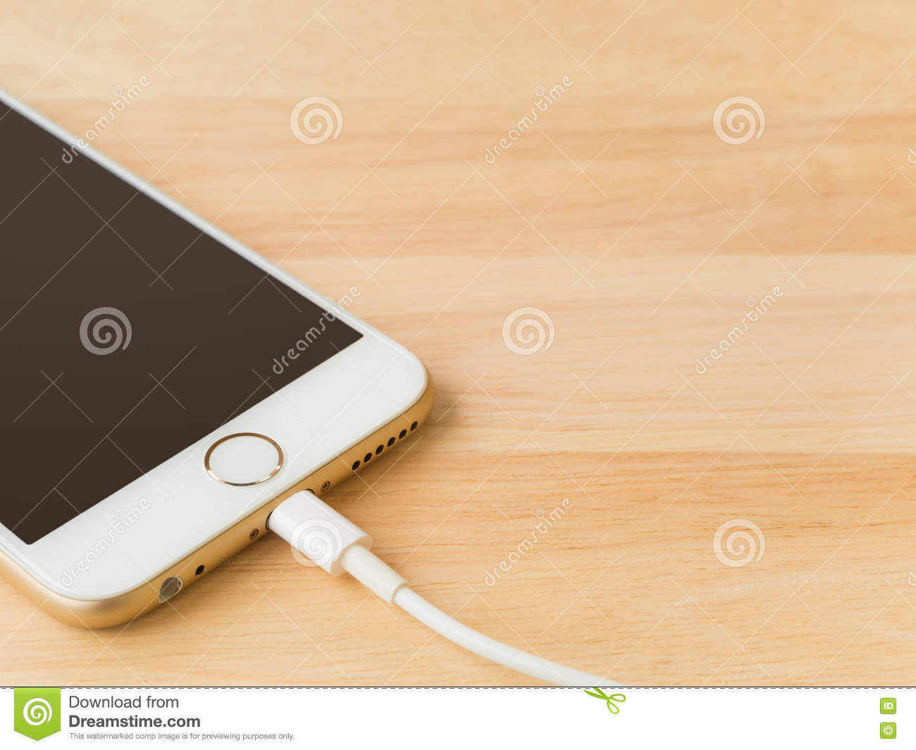 Apple iPhone6 Charging with Lightning USB Cable