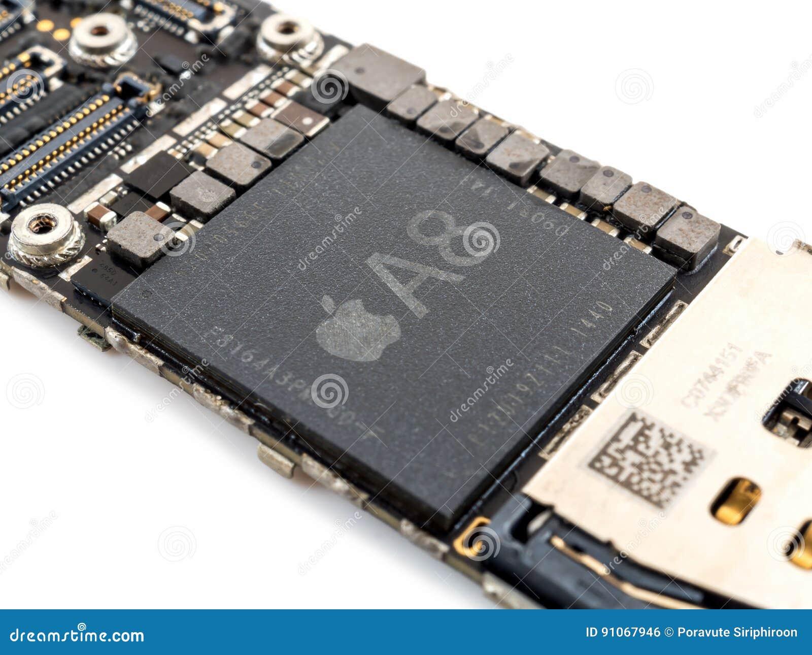 Apple iPhone 6 CPU IC chip