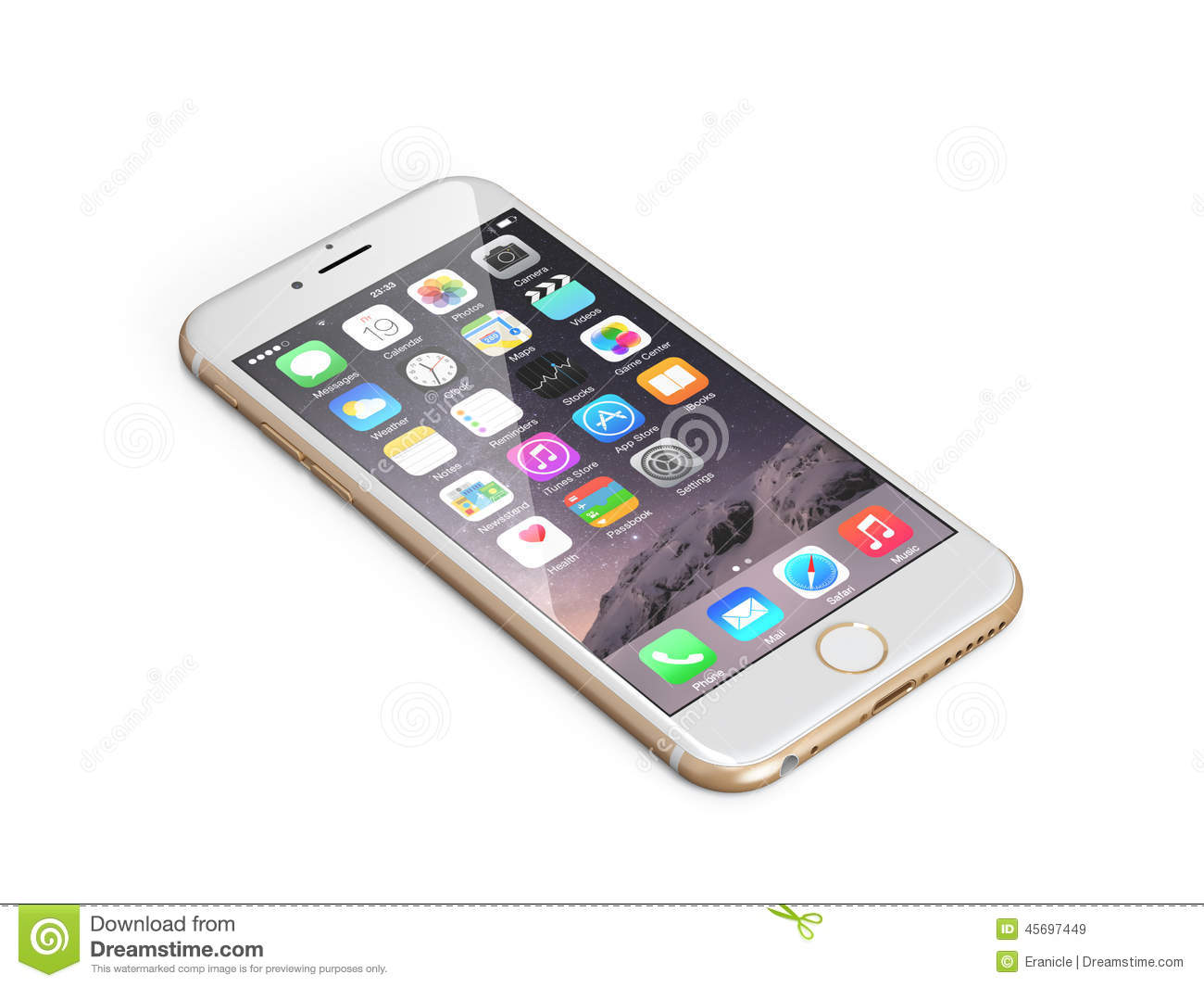 Apple iphone 6 editorial stock image. Image of cellular ...