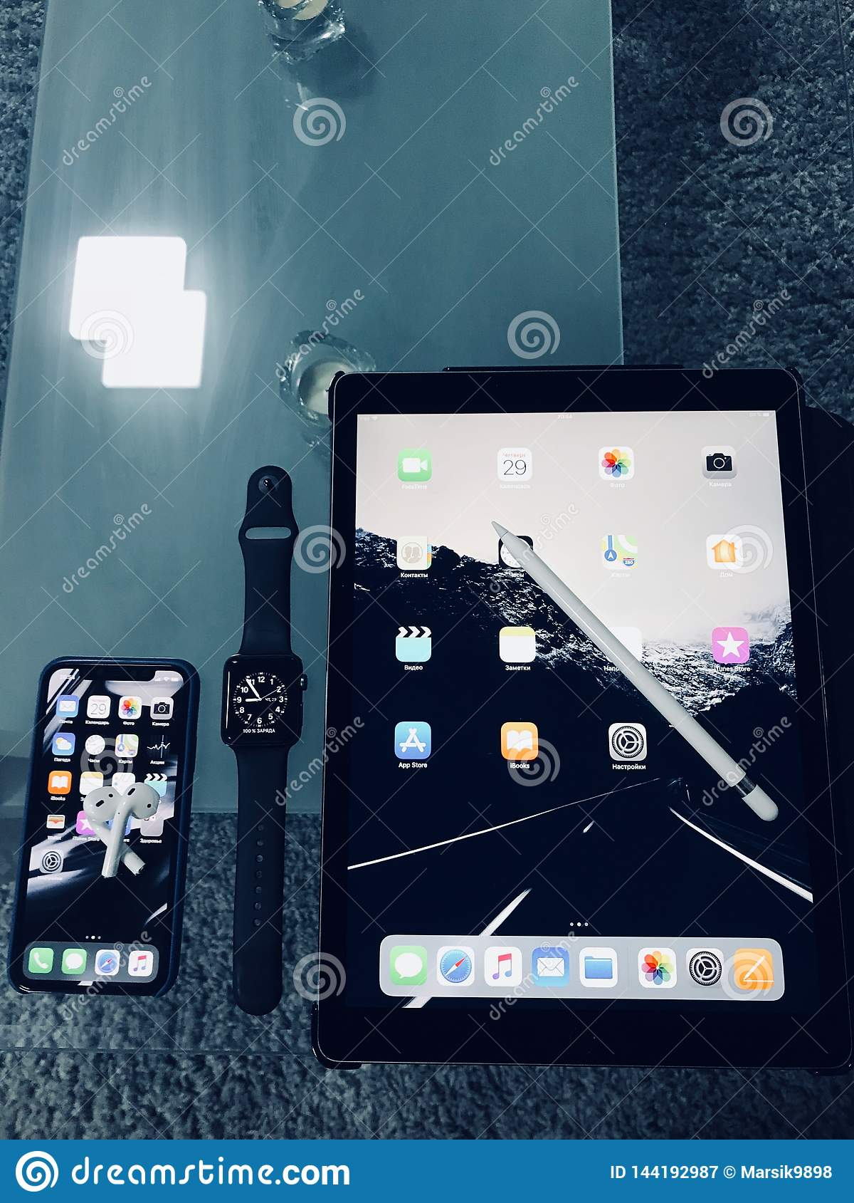 Apple iPhone ,iPad ,apple pencil
