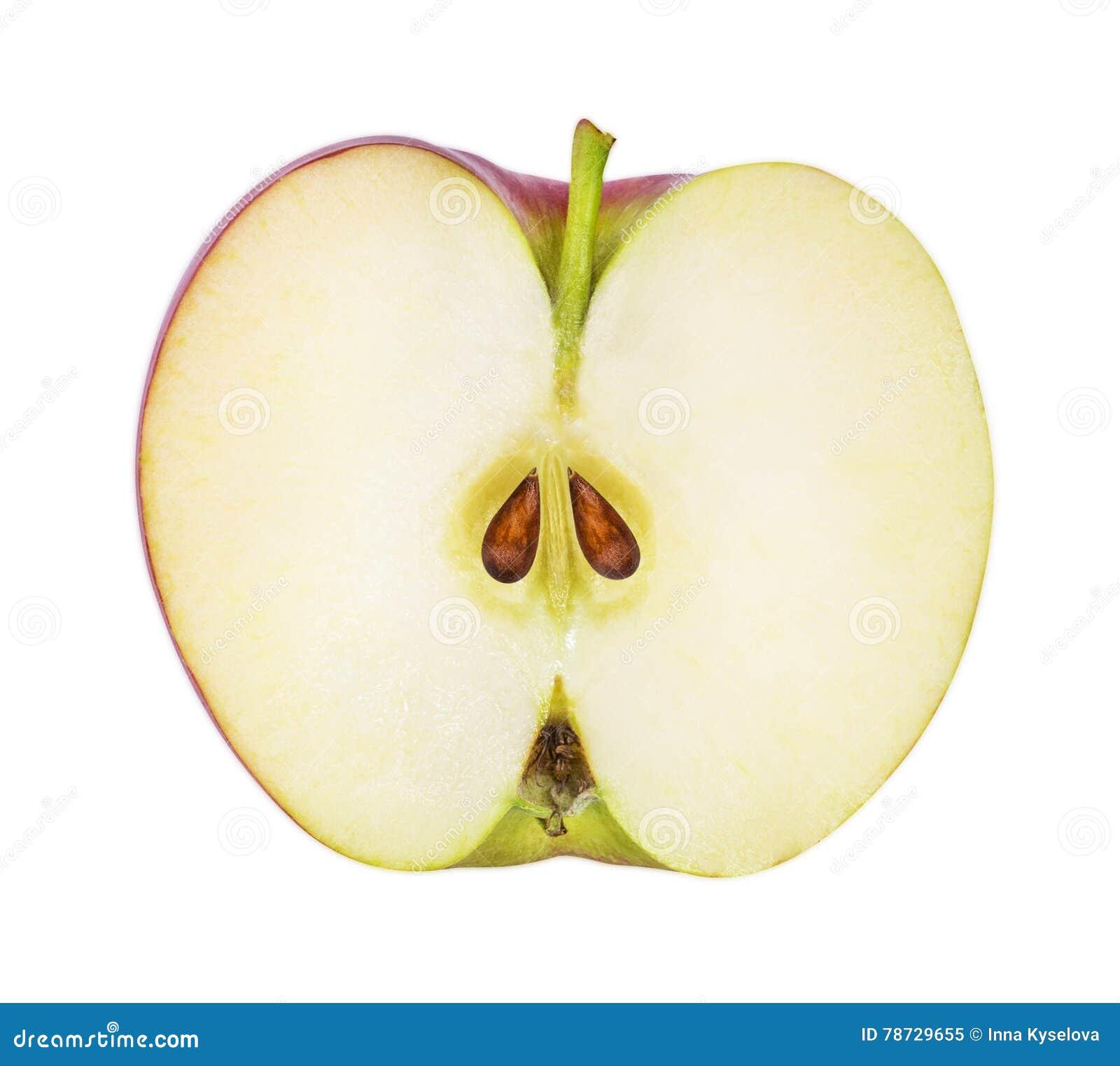 Apple isolerade på vit