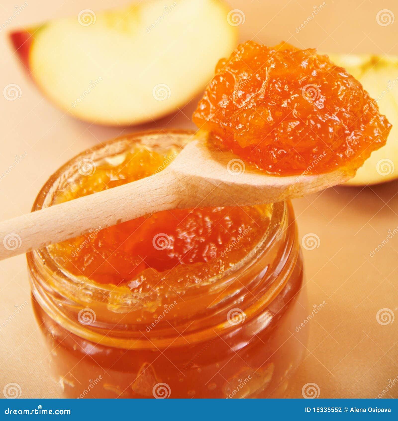 apple jam. royalty-free stock photo. download apple jam