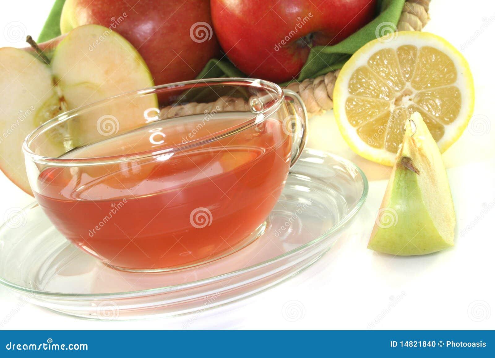 Apple-lemon Tea Stock Photo - Image: 14821840