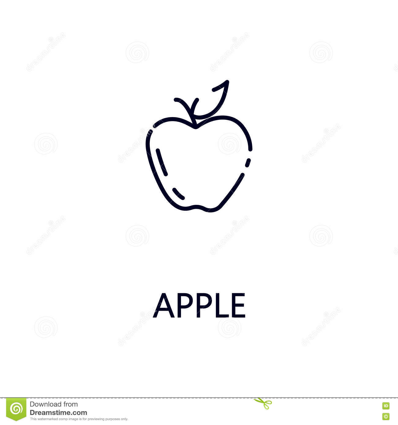 Heart flat icon single high city attorney cover letter apple line icon stock vector illustration of healthy 80366948 apple line icon flat single high quality outline symbol fruit web design mobile app thin signs buycottarizona Image collections