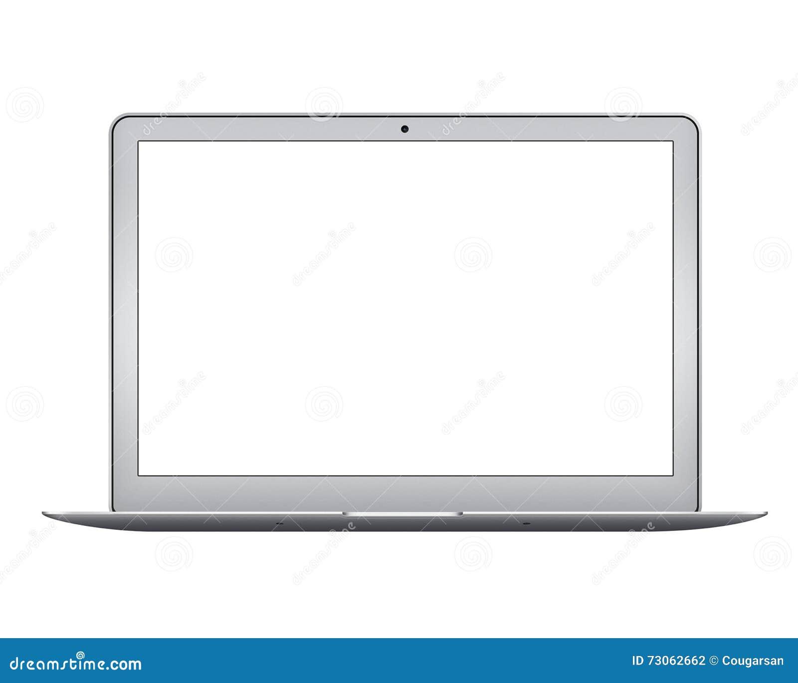 Apple MacBook Air notebook computer mockup