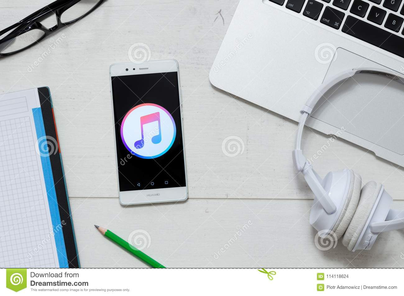 Apple Music Is A Service That Offers Legal Streaming Music Editorial