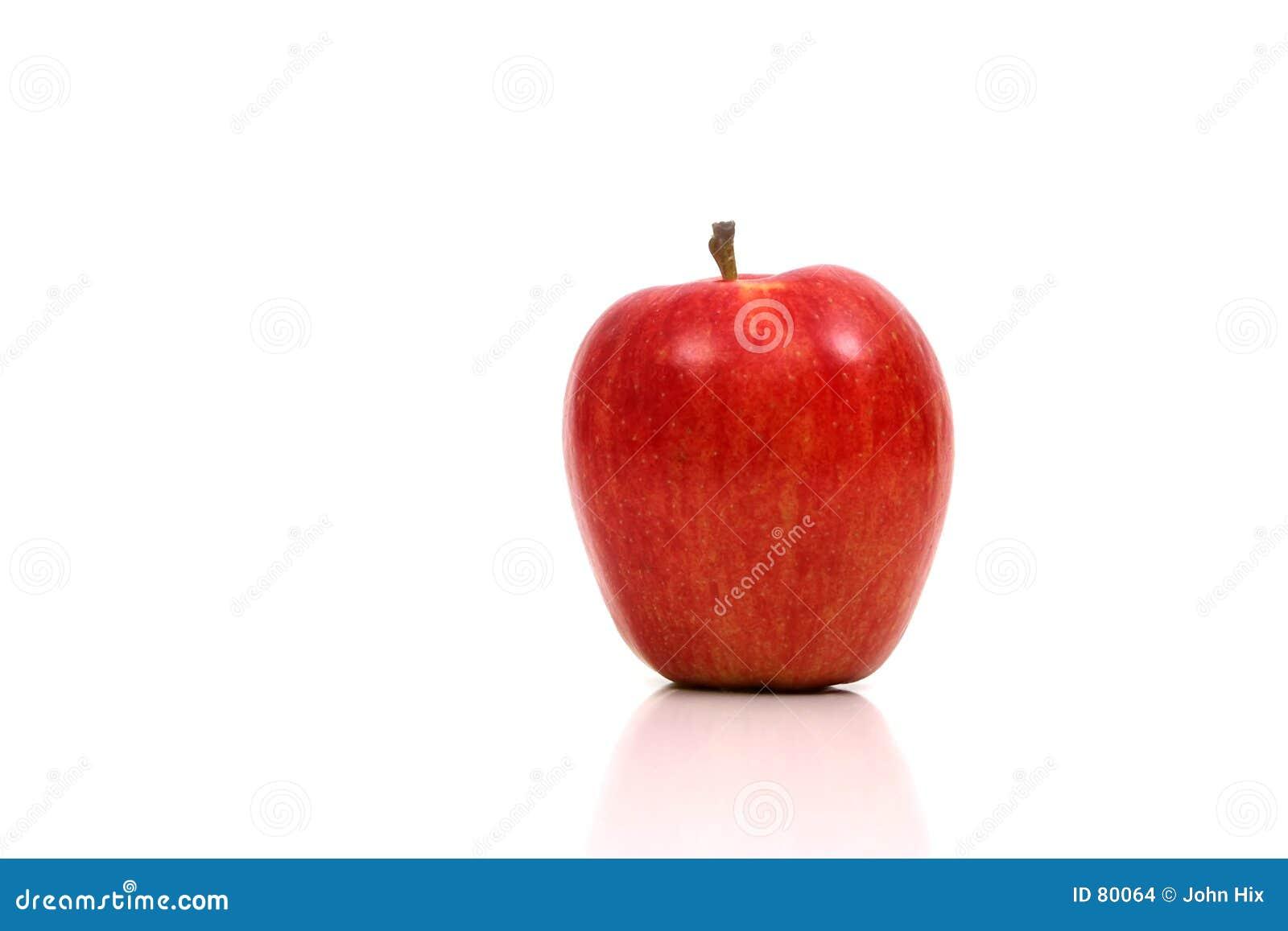 Apple muy rojo